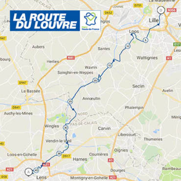 Route du Louvre Le parcours 2018
