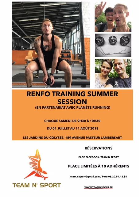 Découvrez les nouvelles activités Cardio et renforcement dès cet été !