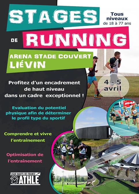 Stage Running à Liévin