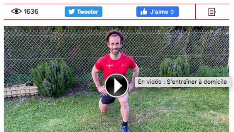 En vidéo : S'entraîner à domicile pour le Running