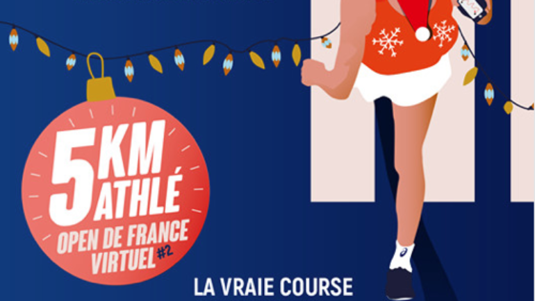 5KM PARTICIPEZ A L'EDITION DE NOËL DE L'OPEN DE FRANCE VIRTUEL !
