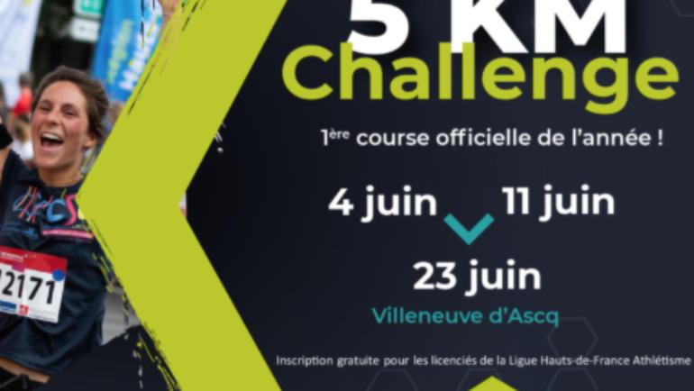 Participez à la 1ère course officielle des Hauts-de-France sur 5km !