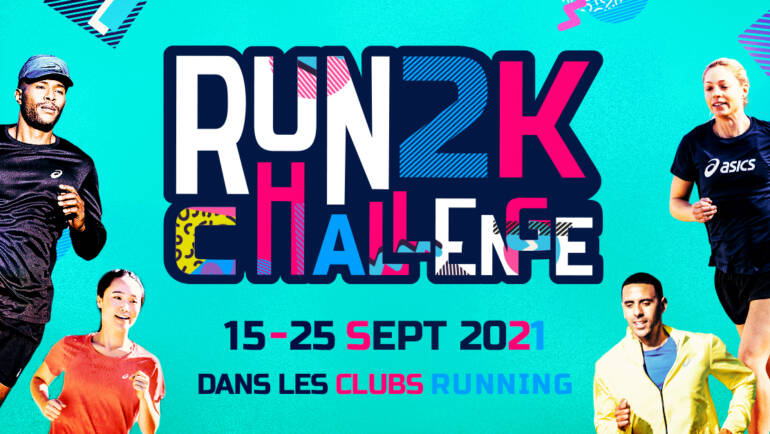 PARTICIPEZ AU RUN 2KM CHALLENGE